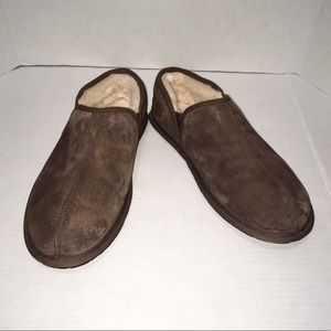 UGG Men's Brown Cozy Slippers Slip On Shoes